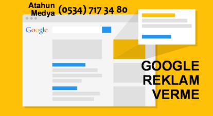 Google Adwords Reklam Verme